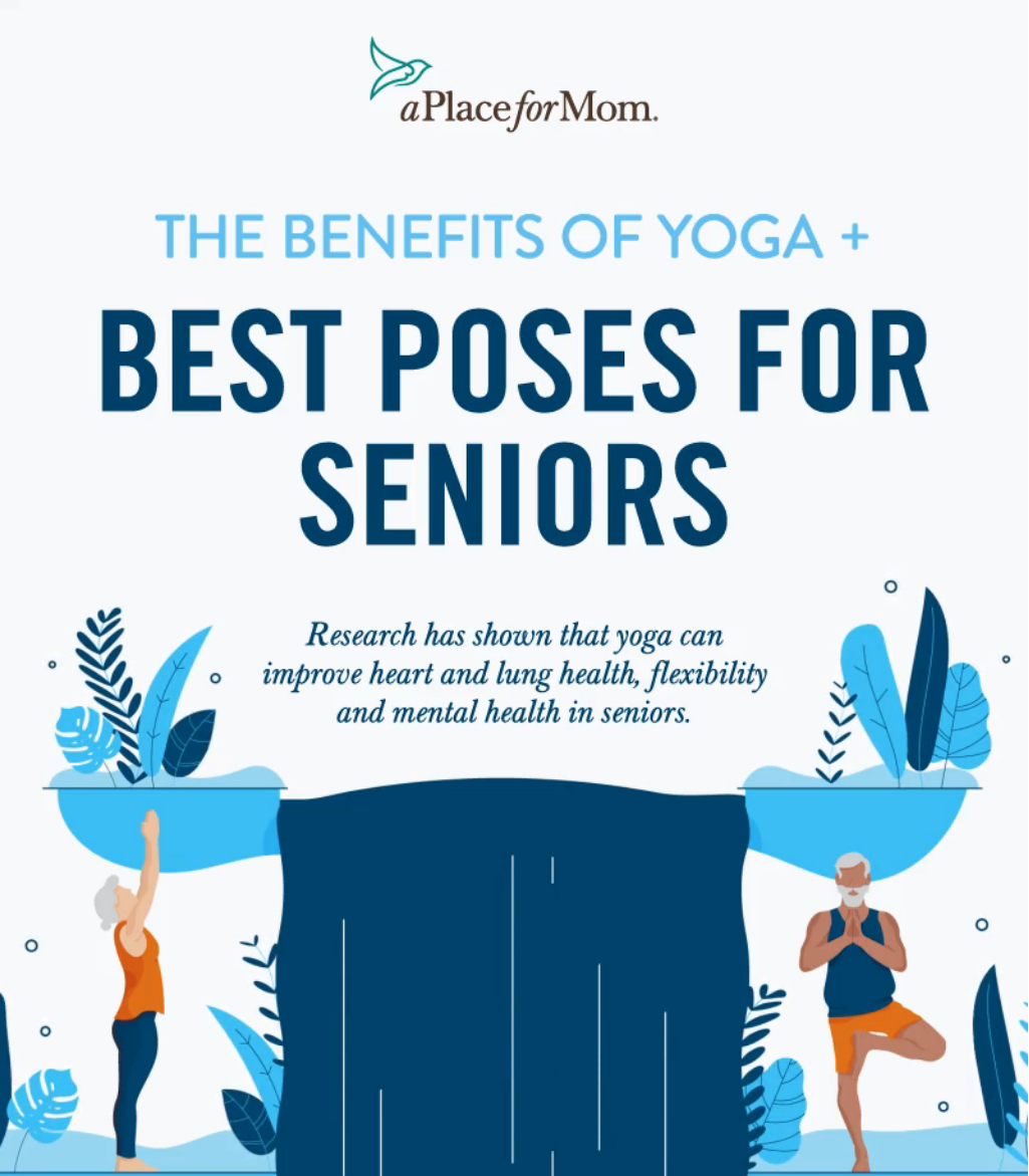 Better Living Yoga  Senior Stretches The Best Yoga Poses for